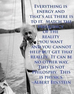 Einstein on Creating Reality