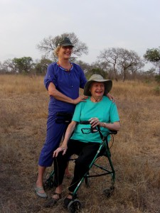 Mom and Me on Safari